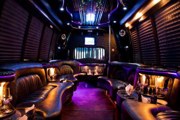 15 Person Party Bus Rental Denver